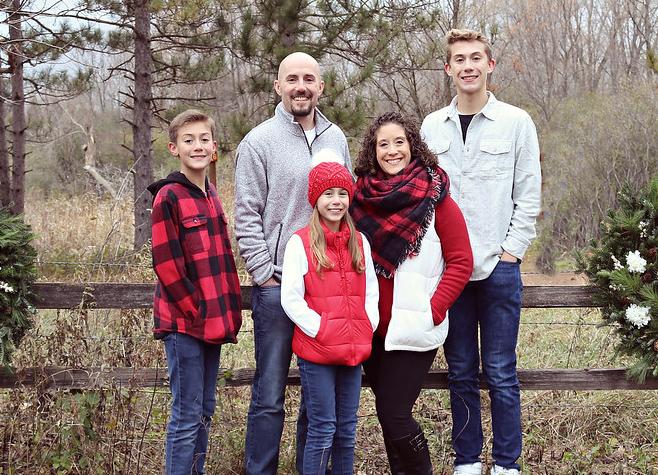 Pastor Vanderhoof and his family